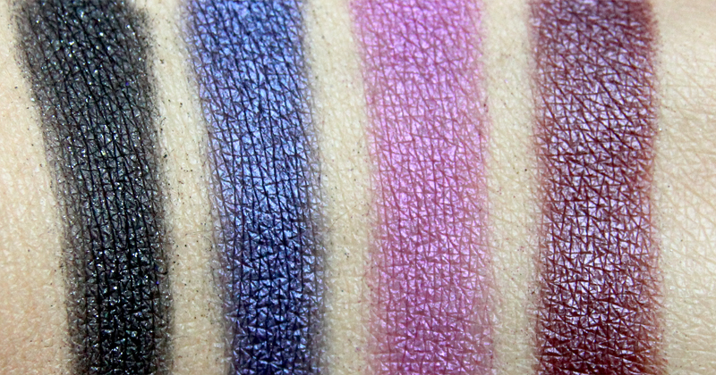 Urban Decay Vice4 swatch(2)