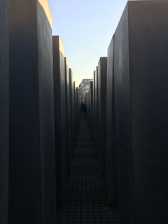 Image of  Memorial to the Murdered Jews of Europe  near  Tiergarten. berlin germany holocaustmemorial holocaustmahnmal