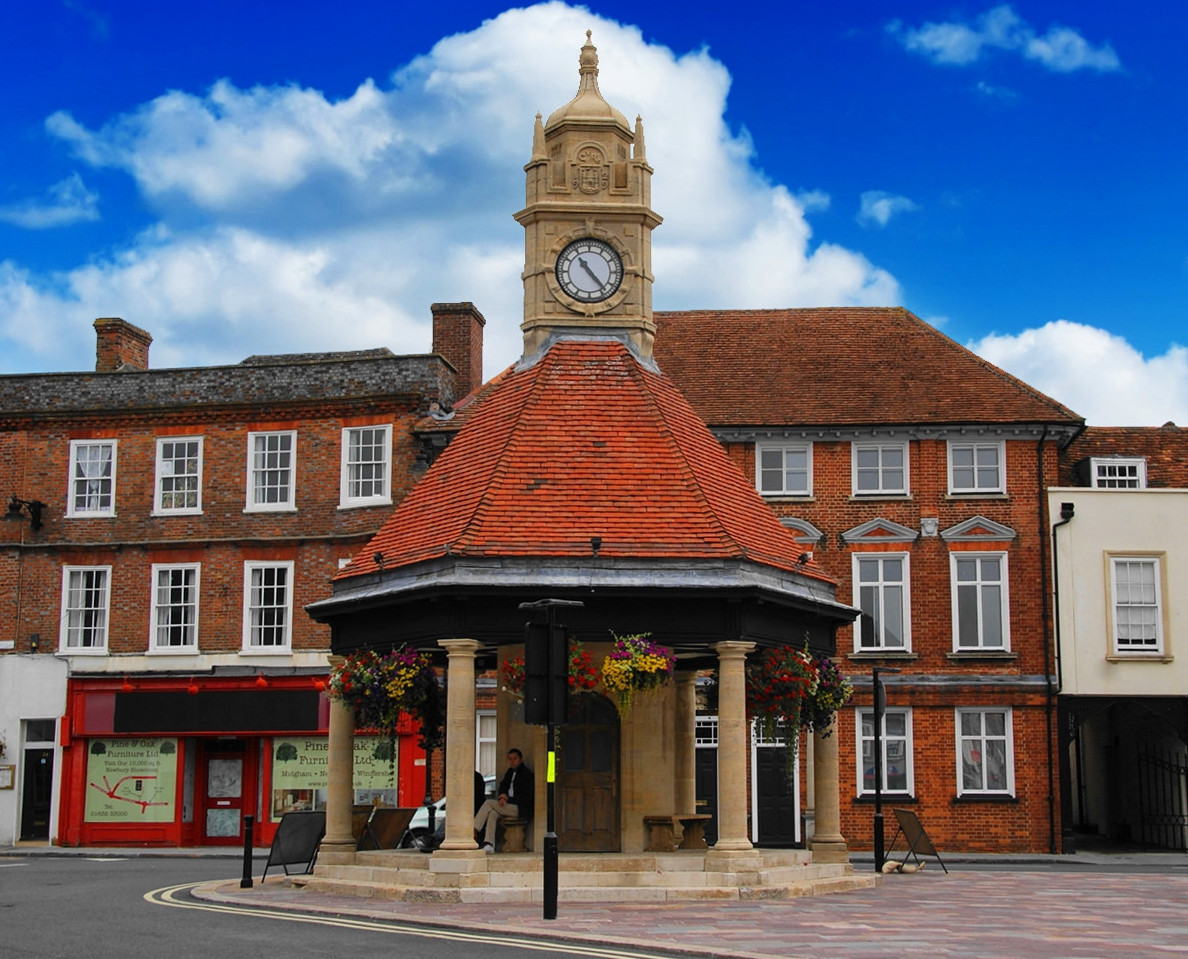 Newbury Clock Tower. Credit Bill Boaden