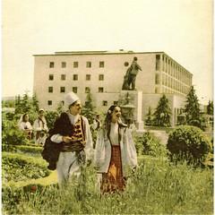 TIRANA, VITET '70-'80. HOTEL DAJTI DHE SHTATORJA E LENINIT.