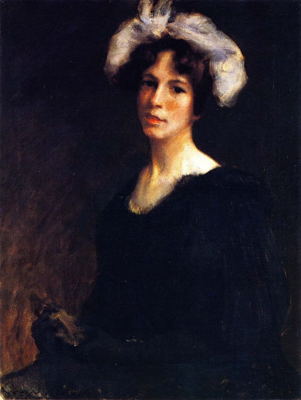 Bessie Potter by William Merritt Chase, 1895