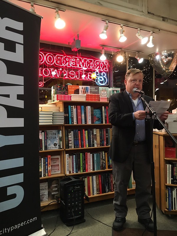 reading at Kramerbooks