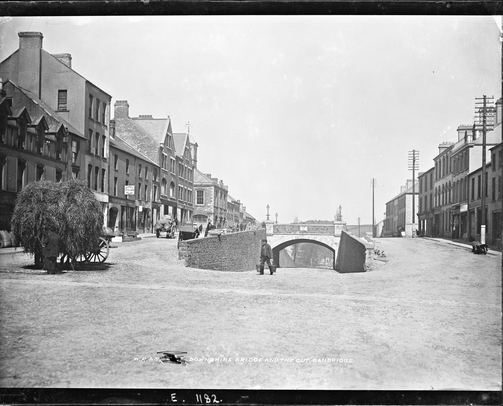 Downshire Bridge and the Cut, Banbridge, Co. Down