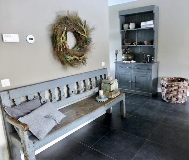 Klepbank landelijk keuken