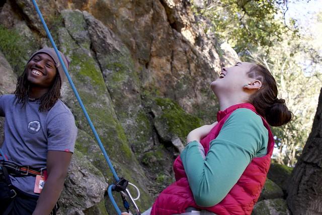 Climbing Candids