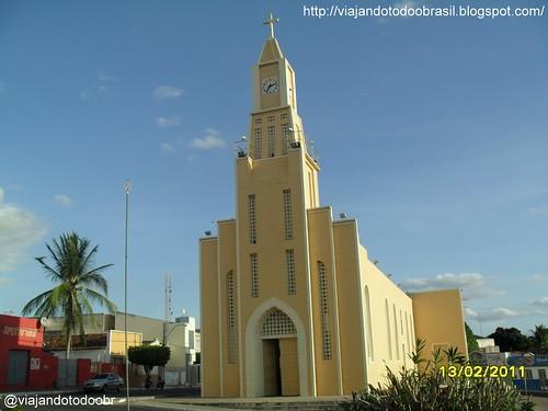 Olho d'Água das Flores - Igreja de Santo Antônio de Pádua
