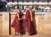 Novice monks at Maing Thauk by TeunJanssen