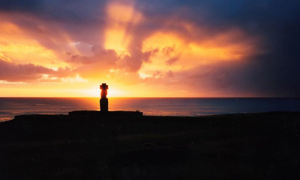 Mohai,Easter Island