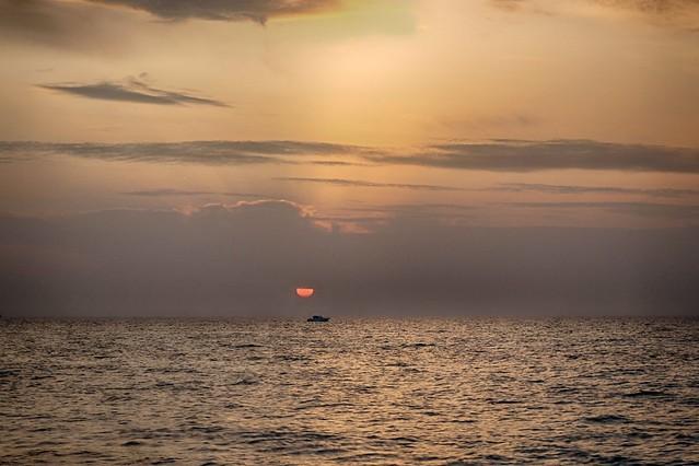 Sweet Marine Sunset