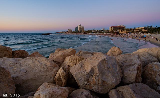 Herzliya Beach, Aug. 29, 2015