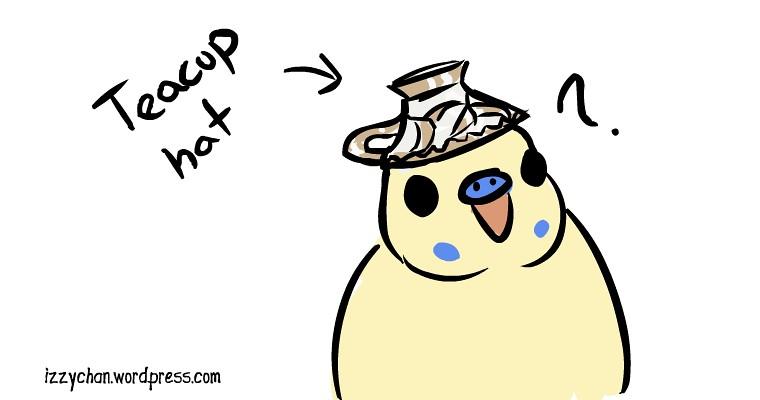 teacup budgie