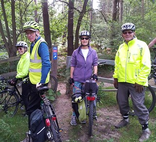B&H Clarion ride at Tilgate forest.