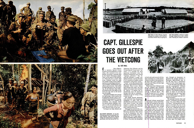 LIFE Magazine November 27, 1964 (3) - CAPT. GILLESPIE GOES OUT AFTER THE VIETCONG