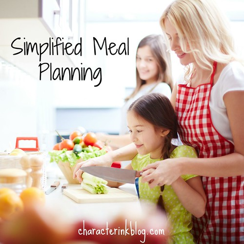 Simplifed Meal Planning Podcast