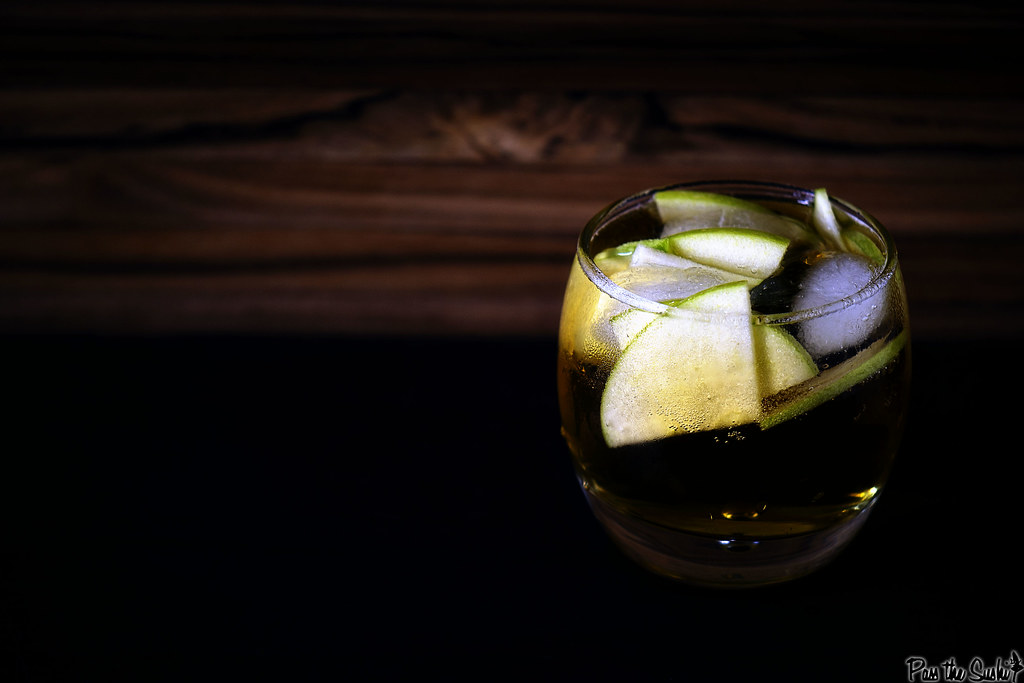 Autumn Stone Fence Cocktail Recipe \\ PasstheSushi.com