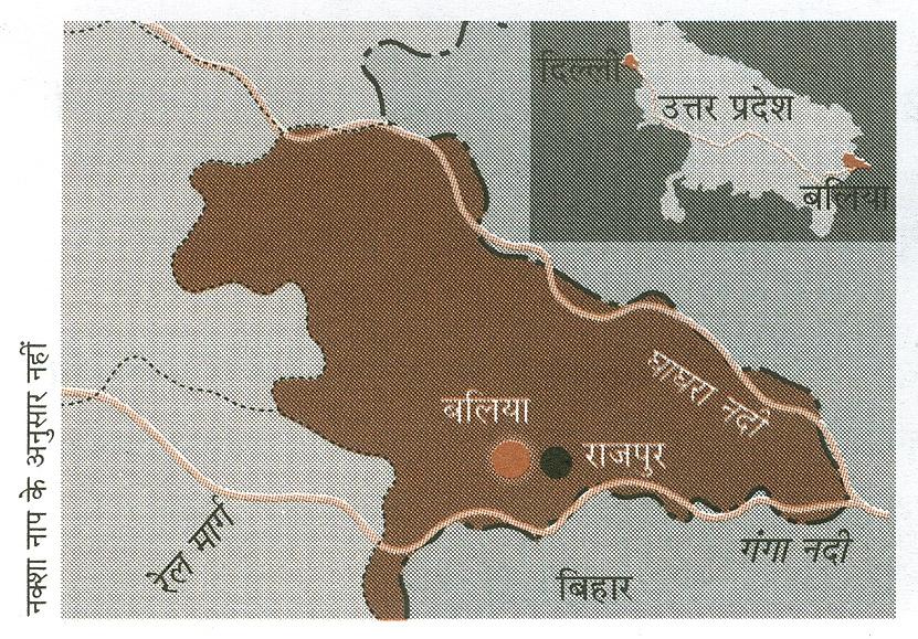 नक्शा नाप के अनुसार नहीं