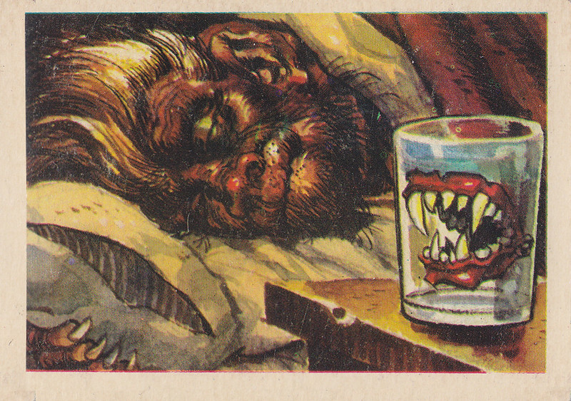 """You'll Die Laughing"" Topps trading cards 1959,  illustrated by Jack Davis (20)"