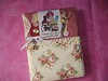 Sewing notebook fabric cover by delsdesignz