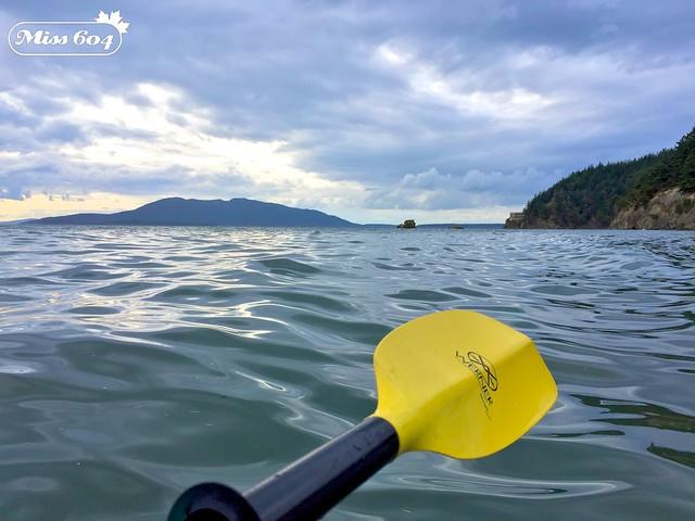 Kayaking at Wildcat Cove