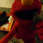 Elmo meets the Lizard King