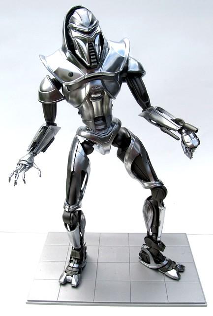 Cylon Centurion from Battlestar Galactica 1:6 Scale Moebius Model