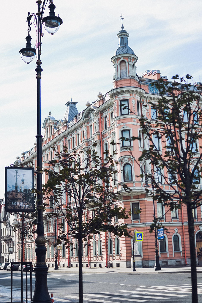 Saint Petersburg streets
