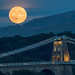 'Menai Moonrise' - Anglesey by Kristofer Williams