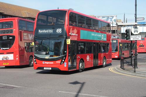 East London 10303 YY15OYU