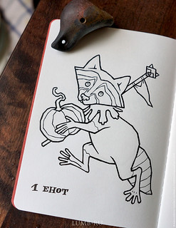 inktober vs drrrawwwing - day 1