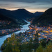 September 2015 - The city Otta in twilight (Explored) by Knut Ove Pettersen