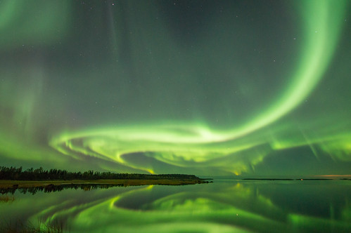 If the last one was minor auroras, these could (maybe) be called mediocre auroras. :P