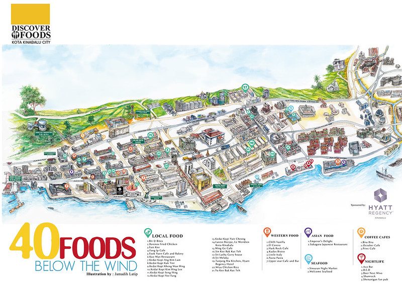 Discover Kota Kinabalu City - Foods below the wind