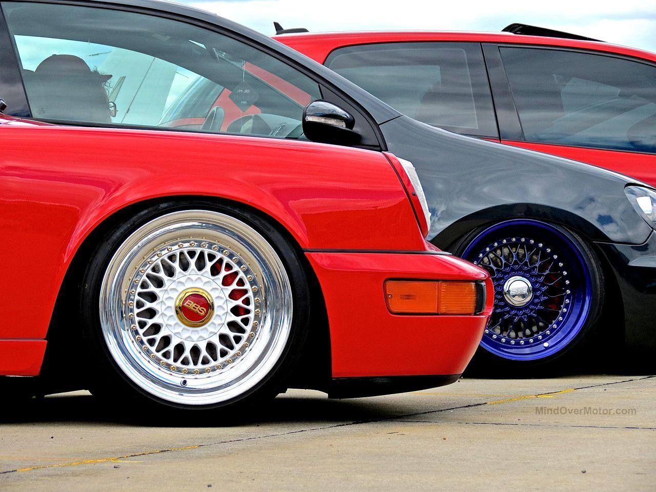 First Class Fitment Porsche 964 BBS Wheels