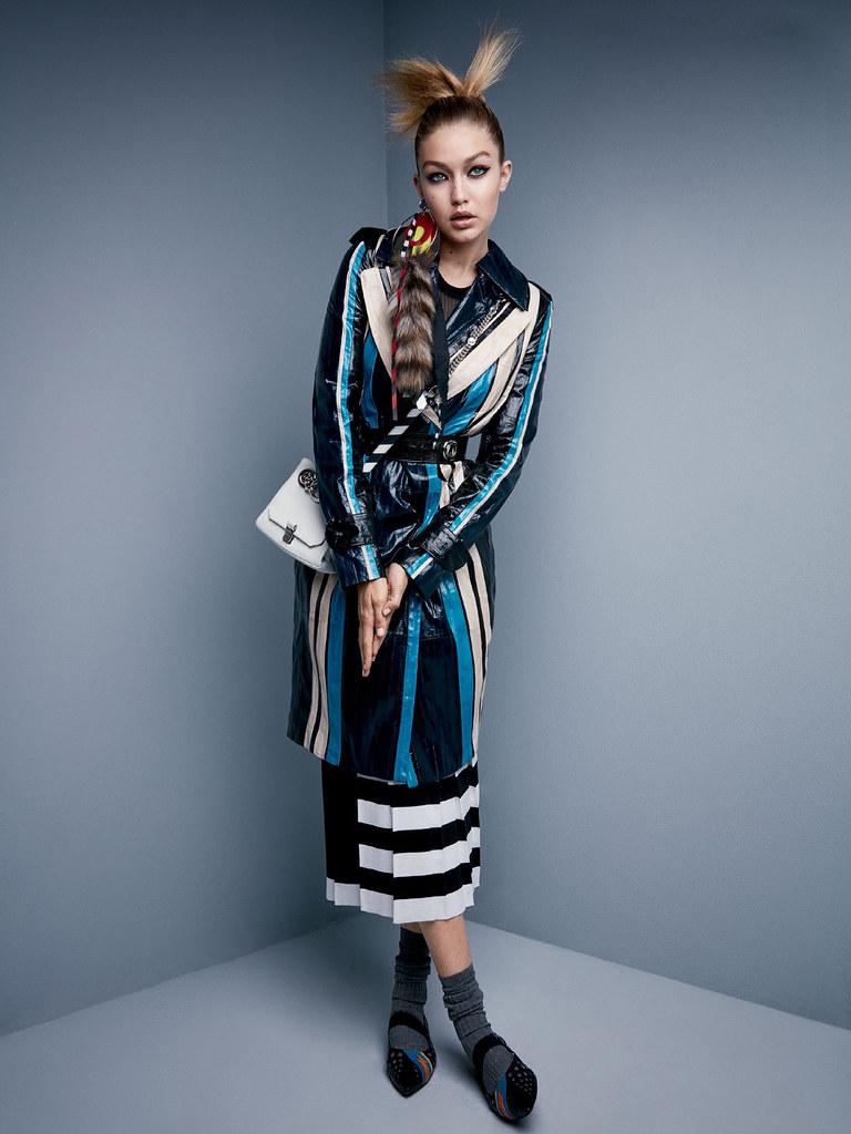 Джиджи Хадид — Фотосессия для «Vogue» 2015 – 1