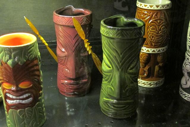 Doug Horne tiki mugs