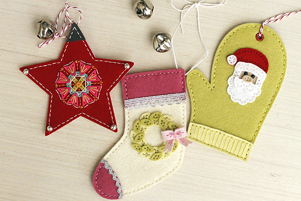 Beaded Holiday Stitch Kit with November's New Seasonal Stitches Dies by Papertrey Ink