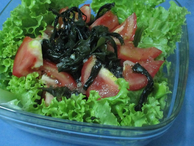 salad with my original dressing