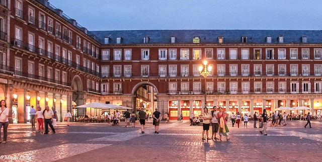 Nocturna a La Plaza Mayor