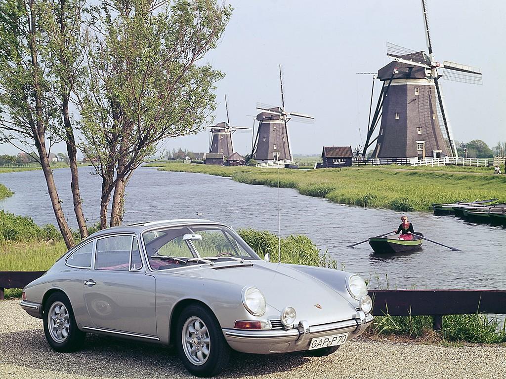 Porsche 911 2.0 Coupe (901). 1964 год