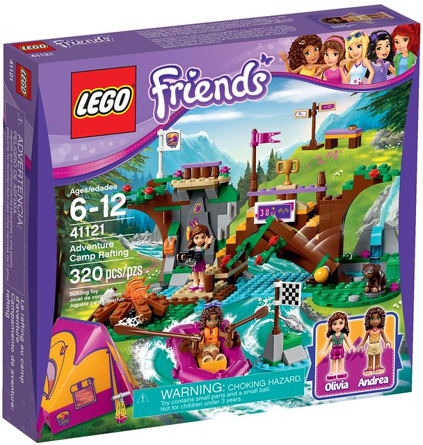 LEGO Friends 2016 | 41121 - Adventure Camp Rafting