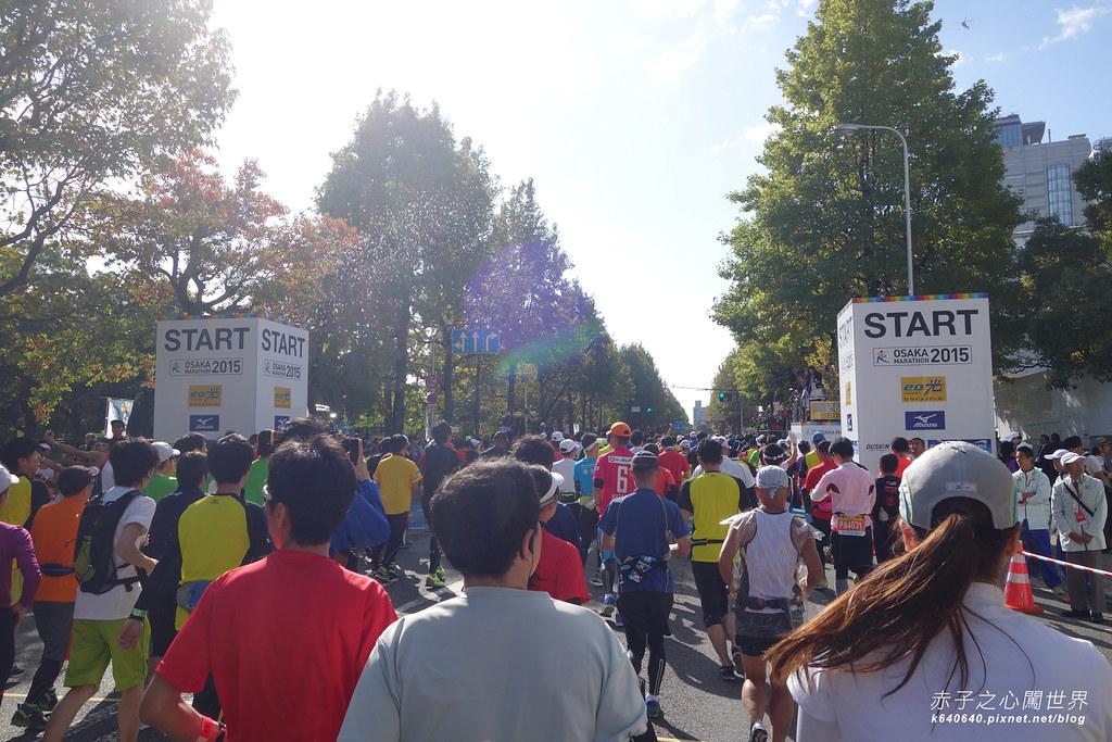 大阪馬拉松-跑步-10
