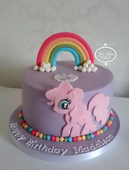My Little Pony Style 3rd Birthday Cake White Rose Cake Design Flickr