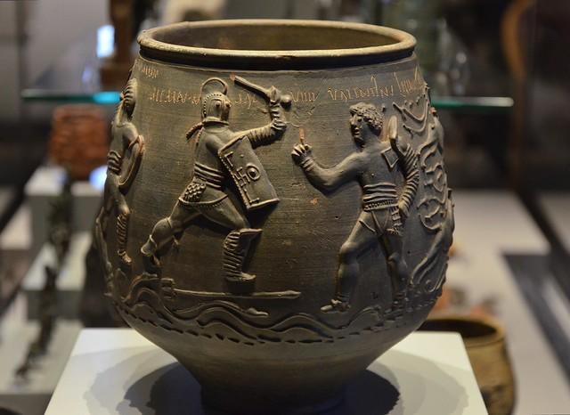 The Colchester Vase, around 175 AD, Colchester Castle Museum, Camulodunum (Roman Colchester)