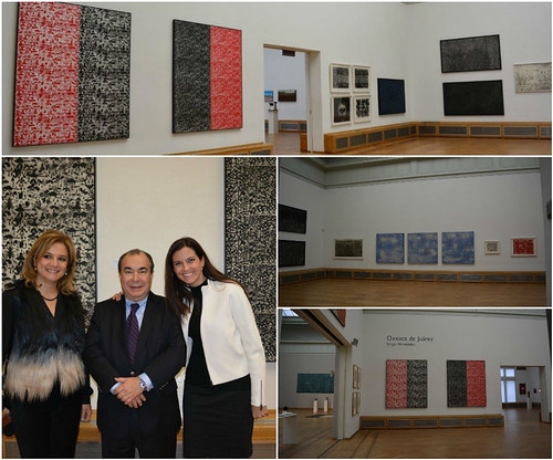 "Exhiben en La Haya ""Oaxaca de Juárez"" obra pictórica"