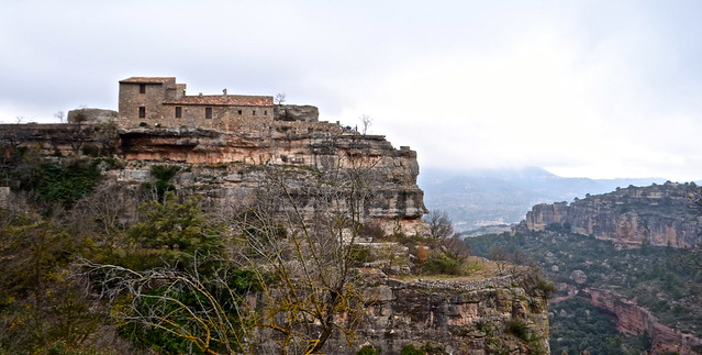 siurana spain medieval town