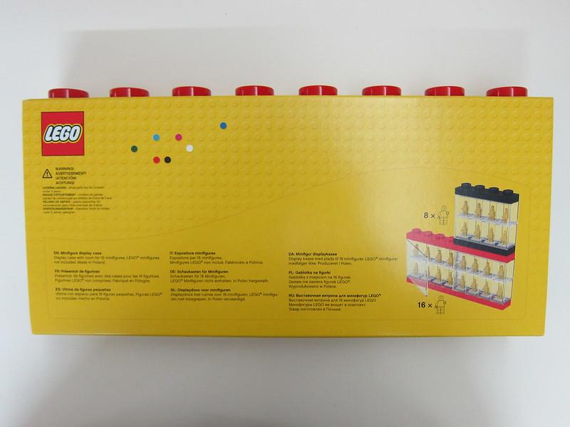 LEGO Minifigure Display Case 16 - Box back