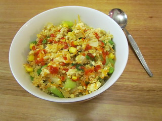 Vegetable Fried Rice and Quinoa