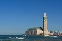 Mosque of Hassan II, Casablanca, Morocco