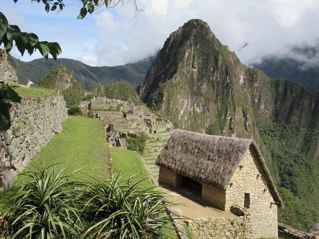 Vista de Machu Picchu, Perú.