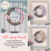 {what next}Hello Spring Wreath for Collabor88 March